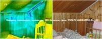 Тепловизионное обследование стены внутренние 6