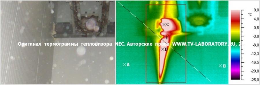 Тепловизионное обследование долодильных камер и складов 1