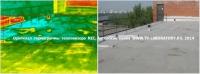 Тепловизионное обследование плоской крыши 1